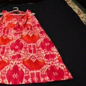 Talbots, Floral Design, Sleeveless Dress